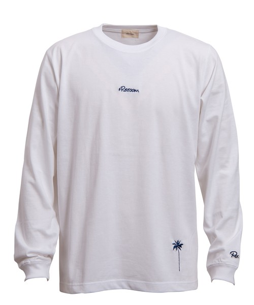 EMBROIDERY SMALL LOGO LONG SLEEVE[REC224]