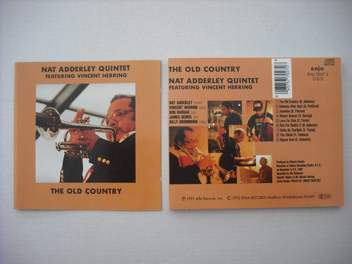 【CD】NAT ADDERLEY QUINTET / THE OLD COUNTRY