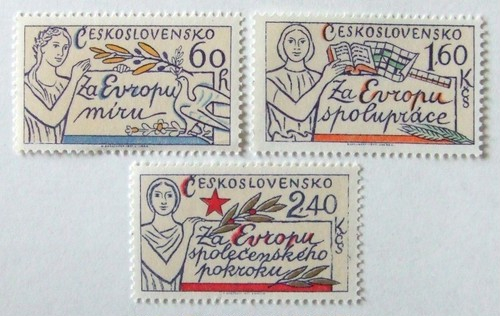 平和と協力 / チェコスロバキア 1977