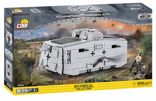 COBI #2982  突撃戦車 A7V Sturmpanzerwagen