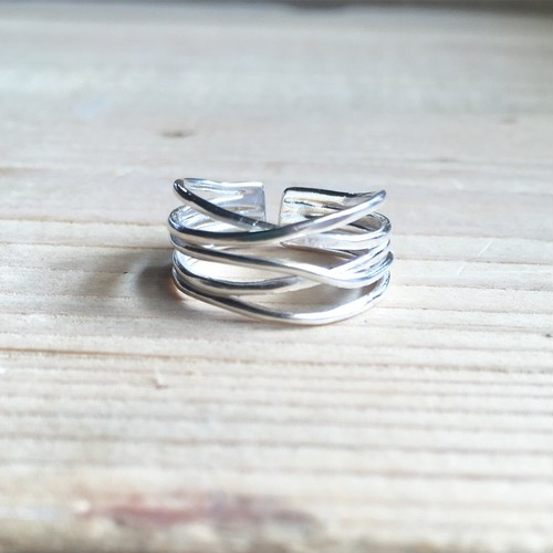 LAYER RING  Silver