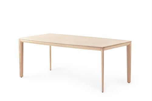 Gazelleダイニングテーブル ホワイトアッシュ材 W200cm