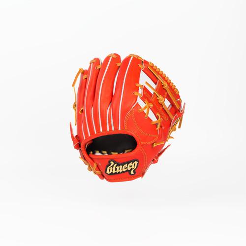 硬式グローブ  内野手用 レッドオレンジ (BFG-IF0101-RO)