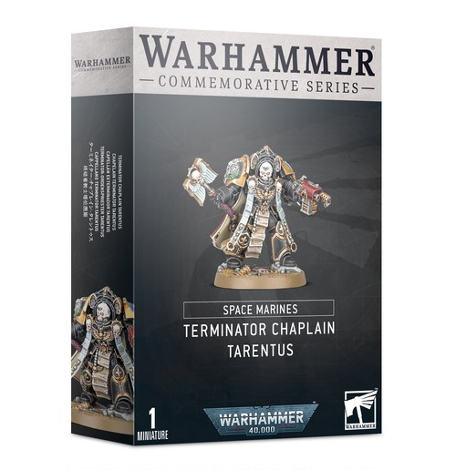 SPACE MARINES: TERMINATOR CHAPLAIN TARENTUS