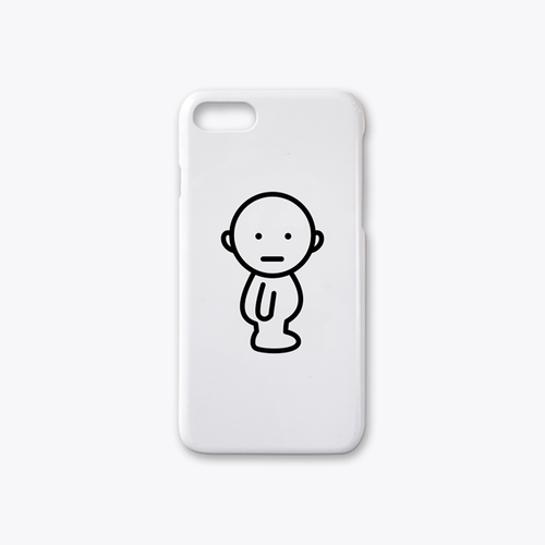 IDEAS/UNIT-SPEAK-e-chigauno iPhone7case ホワイト