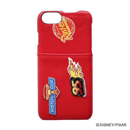 DISNEY・PIXAR/Cars/iPhoneケース Embroidery/YY-D007 RD