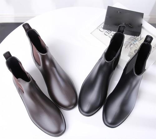 レインブーツ 2色 21.5〜27.0cm 大きいサイズ 靴 レインシューズ ショートレインブーツ ブーツ おしゃれ カジュアル きれいめ 春秋