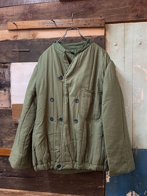 80's hungary army liner jacket