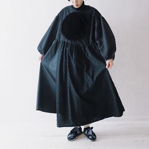 BOA CIRCLE DM MONOCHROME DRESS / LL
