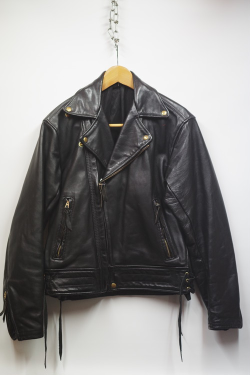 60's Langlitz Leathers Riders Jacket(黒)