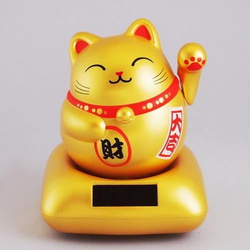 まるまる幸せ招き猫 (金)