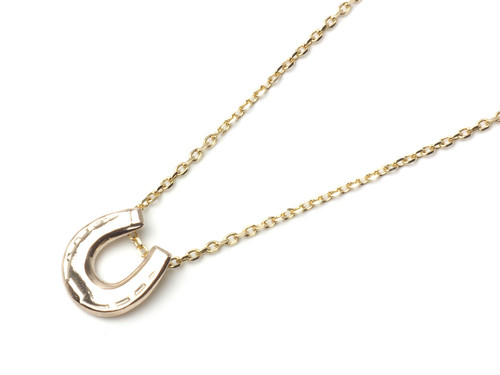 TINY HORSE SHOE CHARM (K10gold)【DERFIE】