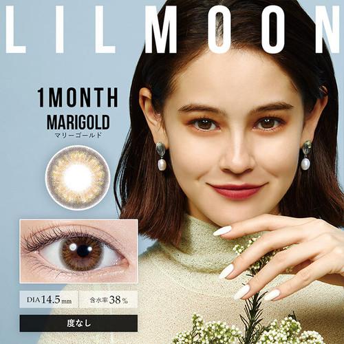 リルムーン ワンマンス(LILMOON 1MONTH)《MARIGOLD》マリーゴールド[2枚入り][度なし]