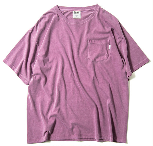 Tightbooth GARMENT DYED BIG TEE L AZUKI タイトブース Tシャツ