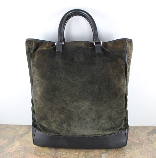 .LOEWE ANAGRAM PATTERNED EMBOSSED LEATHER HAND BAG MADE IN SPAIN/ロエベアナグラム柄型押しレザーハンドバッグ 2000000045283