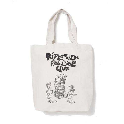 Riverside Reading Club × stacks TOTE BAG