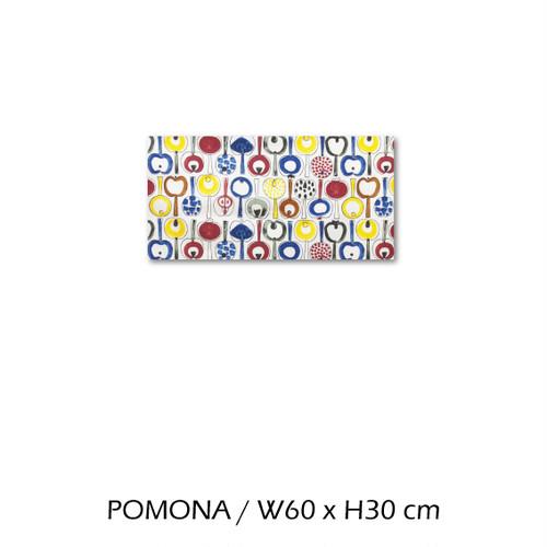 北欧生地 ファブリックパネル 横60 cm x 縦30 cm almedahls POMONA 受注販売商品 (94613)