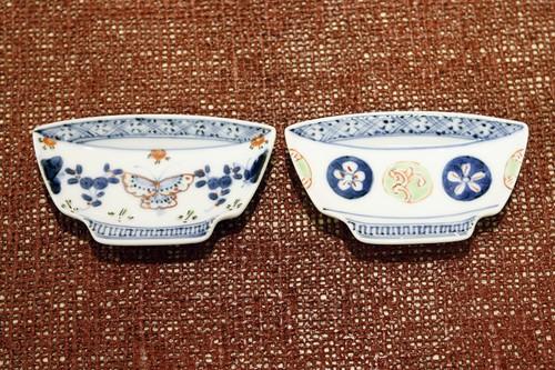碗型小皿 伝統柄 2種 作・福珠窯(有田焼)