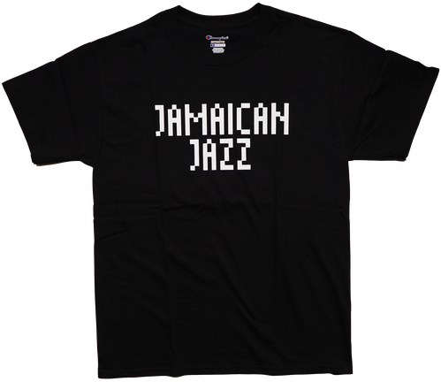 JAMAICAN JAZZ Tシャツ (ブラック) CONTROLLER × beat sunset