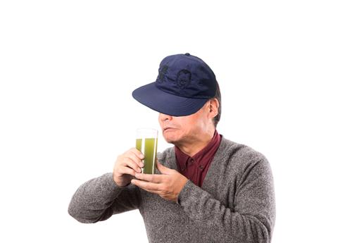 【受注生産品】覩連寧緯 刺繍ナイロンキャップ 紺 X 刺繍黒