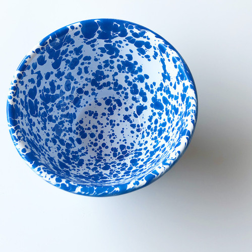 "CROW CANYON HOME ""SMALL FOOTED BOWL BLUE"" φ13cm"