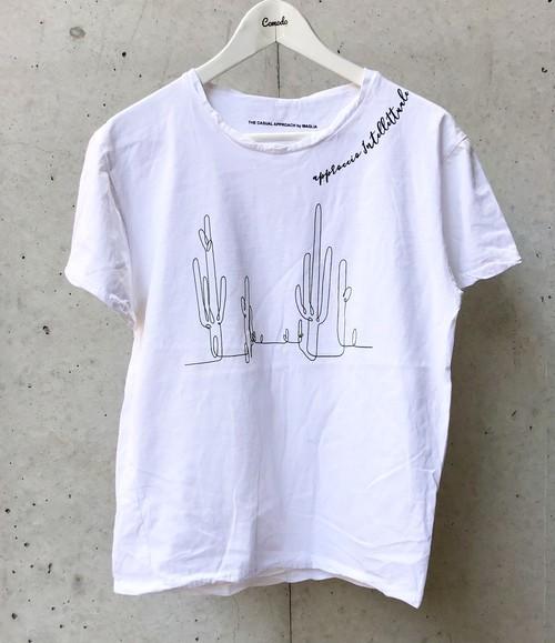 MAGLIA(マリア) T-2307 Tシャツ クルネック ホワイト