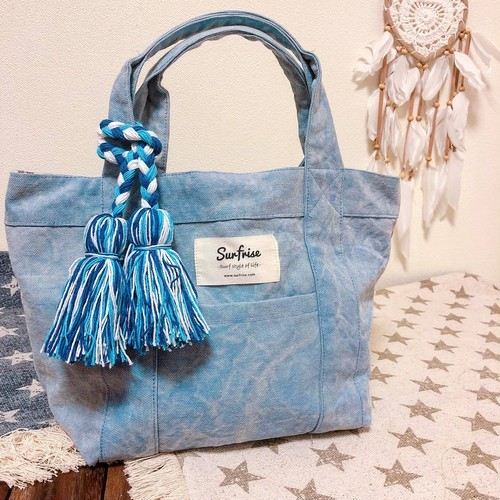 【近日販売開始】Tote bag S - Stone wash