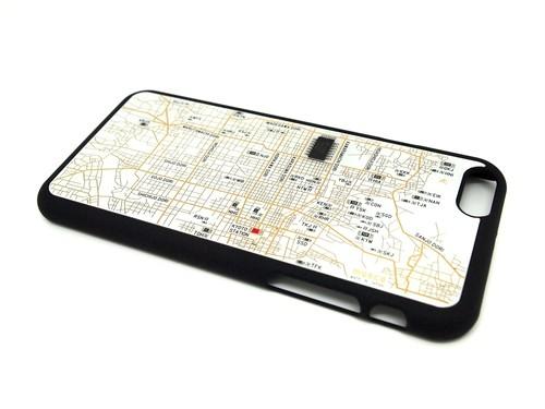 京都回路地図 iPhone6ケース 白【LEDは光りません】【東京回路線図ピンズをプレゼント】