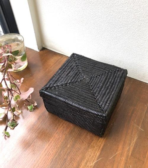 アタ スーパーアタ ★ブラック★きめ細かいアタの小物入れボックス