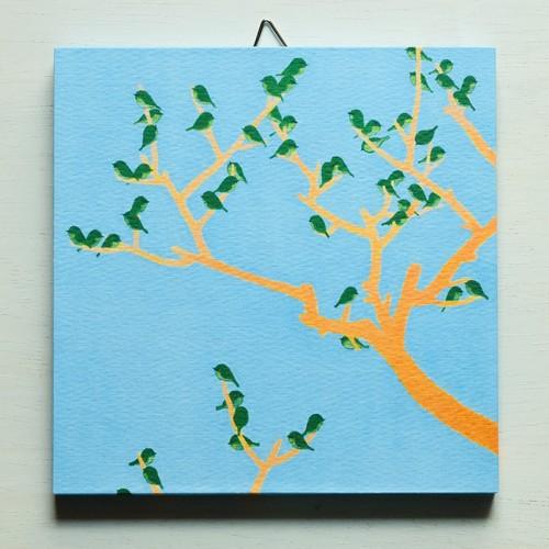 アートパネルNo.68「美の定義(木×鳥)」