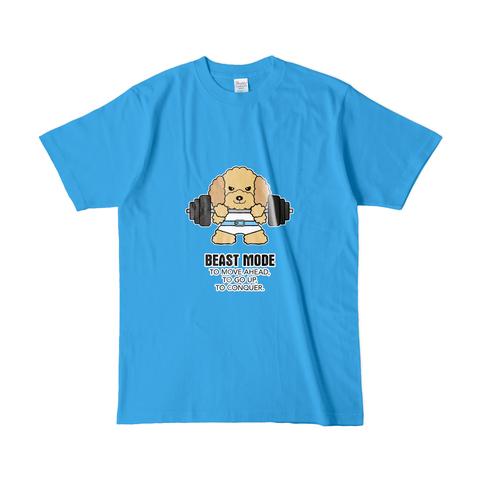 Tシャツ メンズ【BEASTMODE プードル】