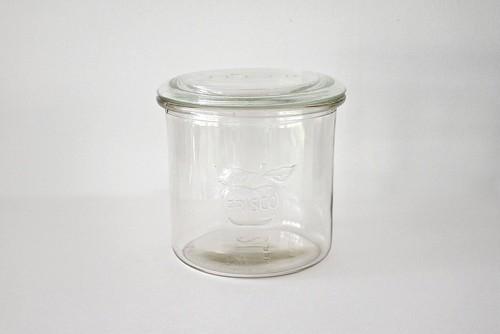 vintage KASTRUP GLASVÆK FRISCO glass jar / ヴィンテージ フリスコ ガラス保存瓶