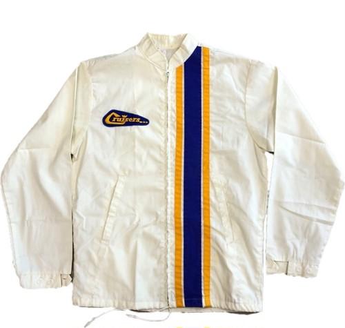 70's  ビンテージ ナイロン レーシングジャケット Cruisers Cotton Racing Jacket