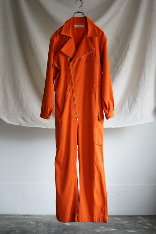 French Vintage - Zip Up Jumpsuit 1960's