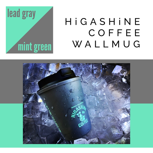 HCW【lead gray × mint green】
