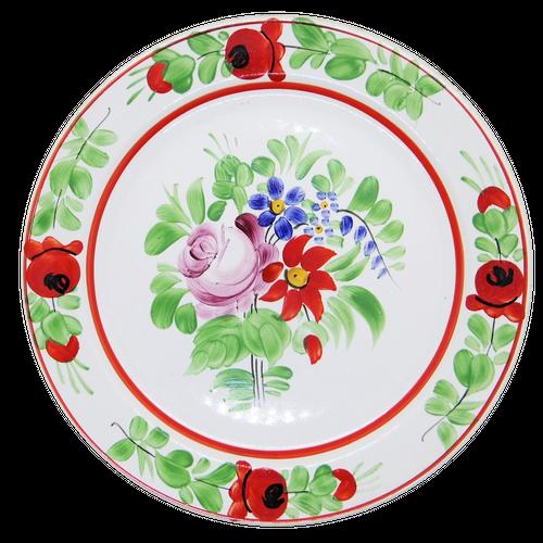 ハンガリーの飾り皿 ハンドペイント平皿②
