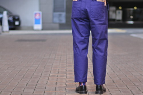 【HATSKI】Serge Work Pants