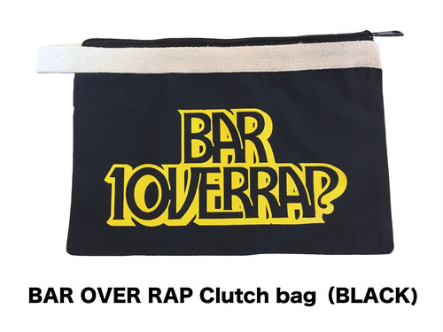 【BAR OVERRAP】 Clutch Bag(2Color)