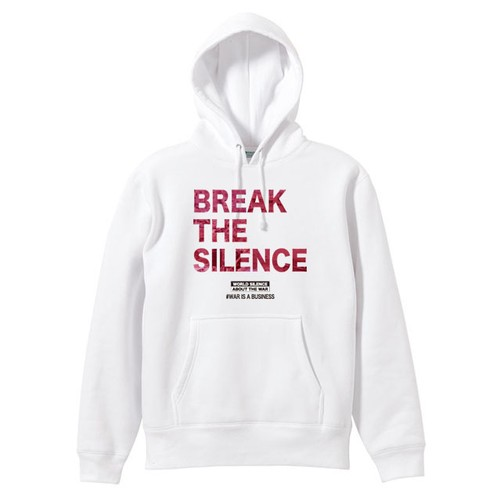 BREAK THE SILENCE【FULL COLOR / 白ボディー】PARKA