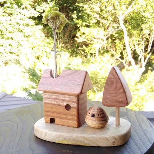 植物の家+庭+スギノコトリ セット