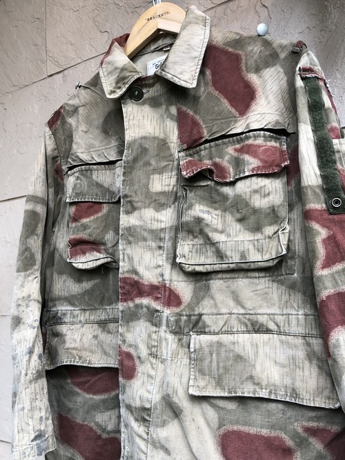 1960s-70s German military camouflage jacket