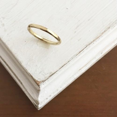 【真鍮・リング】ヴィンテージな指輪 ラウンド・ペアリングに人気