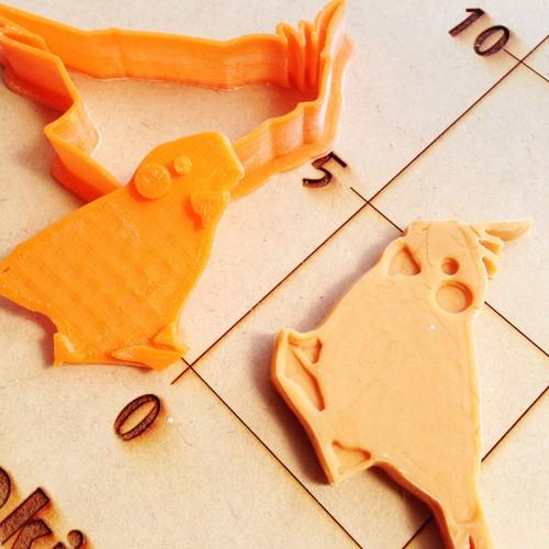 オカメインコ クッキーカッター・クッキー型