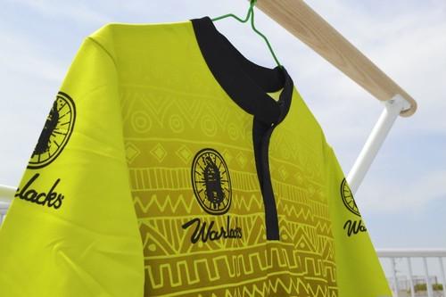 アステカイエロープラクティスシャツ WLS101013