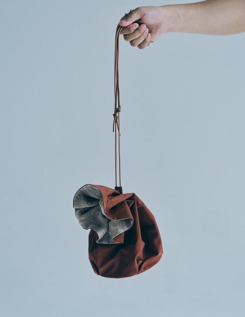 [ATAMI 'n' TOKYO×BEDORO] Drawstring Bag - ツバキ