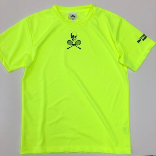 ビッグスカルゲームシャツ 蛍光イエロー GS-001