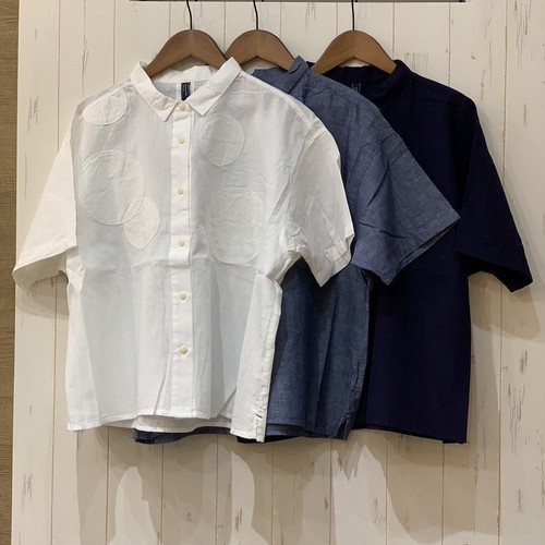 パッチワークドットシャツ(TD0240)
