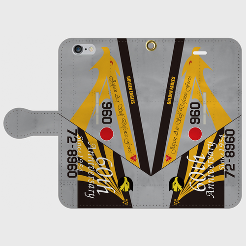 航空自衛隊306飛行隊F-15J60周年記念塗装 手帳型スマホケース