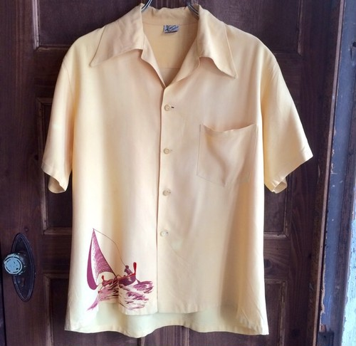 1950s vintage catalina Hawaiian shirts