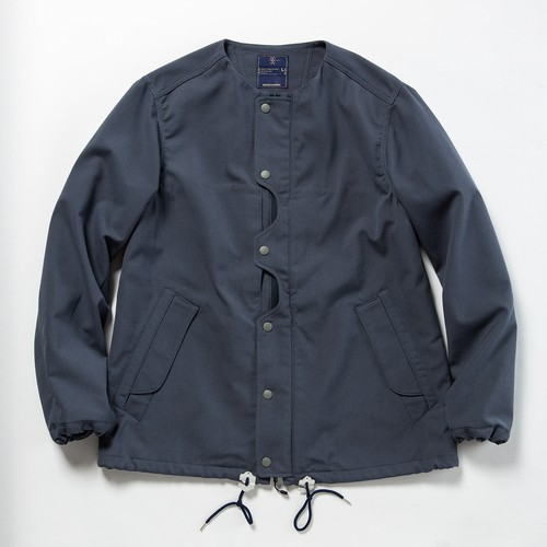 "meanwhile Odd Job Flap ""Sashiko"" JKT  BlueGrey"